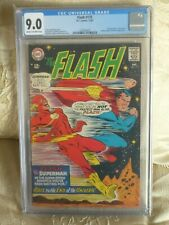 DC COMICS Flash 175 9.0 vf/nm  The race to the end of the Universe superman