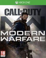 Call Of Duty Modern Warfare COD MW (2019) Xbox One - VGC - UK PAL