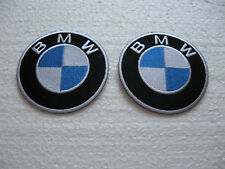 2x Aufnäher BMW Aufbügler Patch Motorcycles Motorcross Motorradcross Biker-MC GT