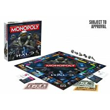 Winning Moves Halo Monopoly Board Game