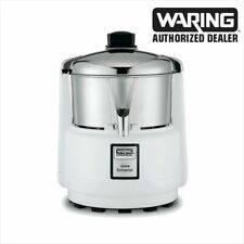 Waring 6001c Commercial Juicer Extractor With Stainless Bowl Amp Cover
