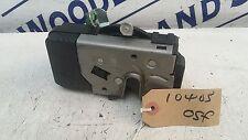 VAUXHALL MERIVA FRONT DOOR LOCK PASSENGER SIDE PETROL 1600 2005