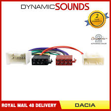CT20DC01 Stereo Wiring Harness Adaptor Lead For Dacia Lodgy Sandero Logan Duster