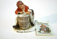 """Norman Rockwell Figurine """"Love Letter"""" NR-206 1979 Dave Grossman Made in Japan"""