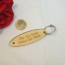 Schlüsselanhänger Für die beste Oma der Welt Geburtstag Geschenk