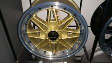 Maxxim OS 15x7 set 4 NEW Escort Datsun Mazda Gemini Toyota Mitsubishi Morris BMW