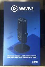 NEW Elgato Wave 3 Premium Microphone & Digital Mixing Solution