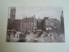 Vintage Sepiatone Series Postcard Bristol Tramway Centre - Unposted     §A889