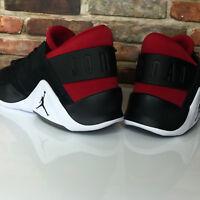 Nike Jordan Flight Fresh Premium Jumpman Black Red Mens Shoe Sz 10.5 AH6462-001