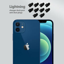 iPhone 12 Charging Cover Lightning Plug Set 10 Pack Anti Dust Silicone Cap