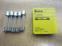 AGC-4 Buss Fuse 4A 250V AGC4 (Pack of 5) Model:  Outdoor & Hardware Store