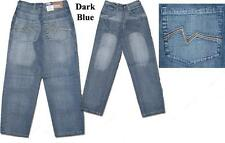 New Big Boys Focus Jeans Relaxed Fit Wide Fit Size 12W
