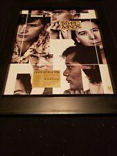 Simple Minds Alive And Kicking Rare Original Promo Poster Ad Framed! #2