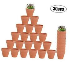 30-Count Mini 2-Inch Terra Cotta Flower Pots - Ceramic Pottery Clay Planters for