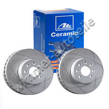 ATE Power Disc + ATE CERAMIC PASTIGLIE DEI FRENI POSTERIORE VW 253x10mm PR-Code: 1kd, 1kq, 1zf