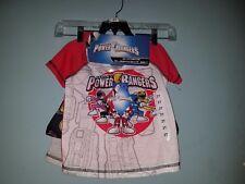 Boy's Power Rangers 3pc Sleepwear Set, Size 2T NWT