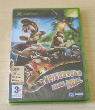NEIGHBOURS FROM HELL XBOX NUOVO NEW PAL EU  ITALIANO  RARO SIGILLATO SOLO XBOX