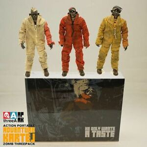 3A ThreeA Ashley Wood Adventure Kartel Boiler Zomb Three pack Action Figures