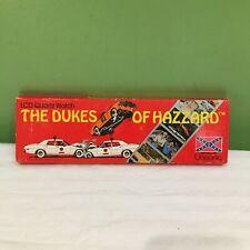 DUKES OF HAZZARD  LCD QUARTZ WRIST WATCH BOXED 1981 FREE SHIPPING