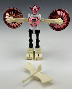 Vintage 1976 Mego Micronauts Red/Pink Black Acroyear w/ Wings Drone Sword Parts