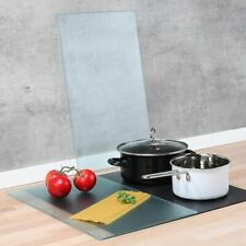 2 Piece Ceramic Glass Ccoktop Induction Stove Cover Chopping Board Range Top