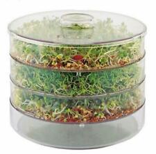 Trois niveaux Seed Sprouter Germoir à graines & semences/sain, Organic Sprouts