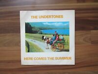 The Undertones - Here comes the summer - 45 single - 1979 Sire records