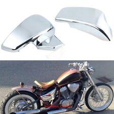 Chromium Battery Side Fairing Cover Honda Shadow VLX 600 VT600C STEED400 99-07