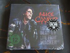 Slip Treble: Alice Cooper : Raise The Dead Live From Wacken 2CDs DVD Book Sealed
