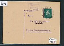 90828) DR > DDR Landpost Ra3 Gorsleben Heldrungen 2 Land, Fa-Karte 1931