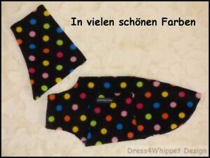 (Windspiel) Windhundpullover mit Snood - Hunde Pullover *** RL 37-38 cm ***