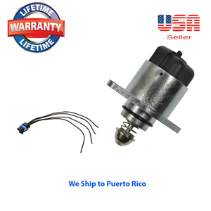 Idle Air Control Valve Motor+ Connector Fit For BUICK CHEVROLET PONTIAC 17112478