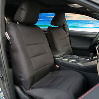 Black Force Waterproof Canvas Seat Covers For ISUZU DMAX Dual Cab 2003-2019
