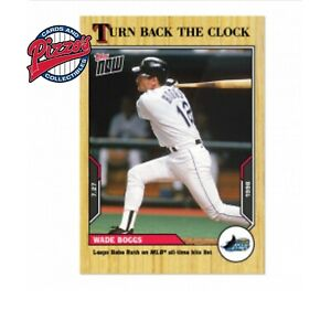Wade Boggs - 2021 MLB TOPPS NOW Turn Back The Clock - Card 118 Presale