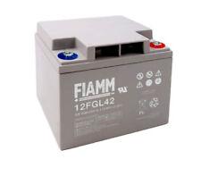 FIAMM - Batteria AGM 12V - 42Ah uso eolico, solare
