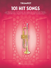 """101 HIT SONGS"" TRUMPET MUSIC BOOK-BRAND NEW ON SALE SONGBOOK INSTRUMENTAL FOLIO"