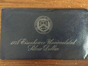 1974 Eisenhower Dollar 40% Silver