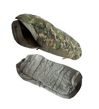 US Military Intermediate Cold (-10° to 30° F) Sleeping Bag & Camo Gore-Tex Bivy