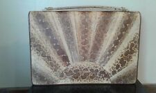 1950s/60s Vintage Python Snake skin handbag.clutch or with handle exc.cond