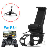Smartphone Clip Phone Holder Gamepad Mount Stand For PS4 Playstation 4