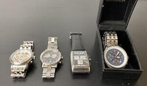Job Lot of Watches - Raymond Weil Chronograph, D&G, Sekonda, Meridian