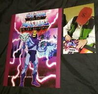 ALAN OPPENHEIMER SIGNED SKELETOR HE MAN MASTERS OF THE UNIVERSE 8X10 PHOTO PROOF