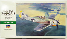 SEALED Hasegawa 1/48 Focke-Wulf Fw190A-3 Kit # JT90