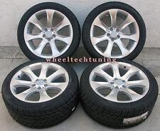 "20"" BMW E53 X5 3.0, 4.4, 4.8 V Spoke 7-Spoke Staggered Wheels Tires Rims Silver"