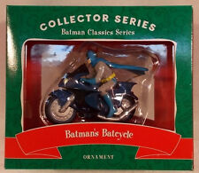 Batman's Batcycle Christmas Ornament Warner Bros Store Exclusive 2000 (MIB)