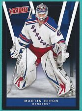2010-11 Upper Deck Victory Black Parallel card #292 of Martin Biron
