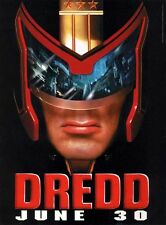 "HUGE Original D/S JUDGE DREDD 48""X70"" Bus Shelter Poster STALLONE  MAKE OFFER!!!"