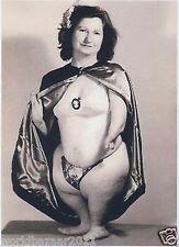 Victoriano curiosidad Pingüino Mujer Circo Sideshow Freakshow Freak Show