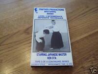 Panther Mastering Aikido Level 3 VHS defensive Ken OTA