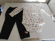 NWT BABY GIRLS 2 PIECE CARTERS OUTFIT--SIZE  12 Months